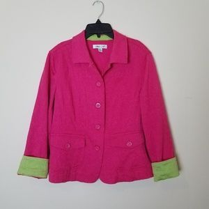 Pink And Green Blazer